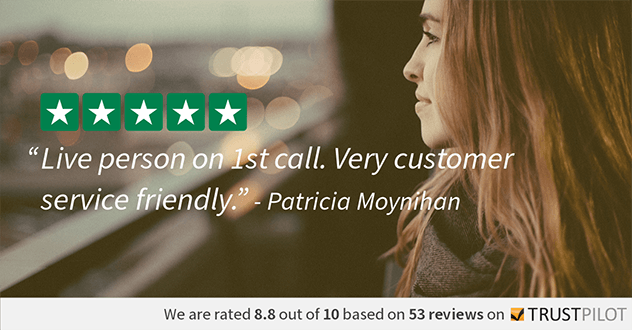 Trustpilot Review - Patricia Moynihan