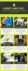 6 Credit Card Tips