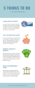 5 Things to do if you need more money