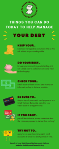Things You Can Do Today To Help Manage Your Debt