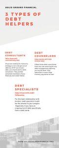 3 Types of Debt Helpers