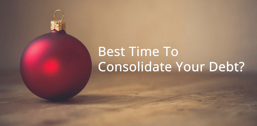 Are the holidays the best time for debt consolidation?