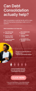 Can debt consolidation help? Infographic